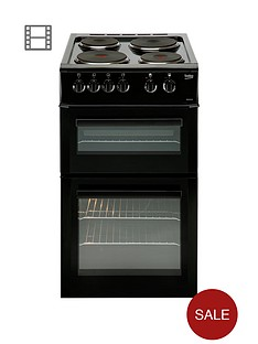 beko-bd533ak-50cm-freestanding-single-oven-electric-solid-plate-cooker-blacknbsp