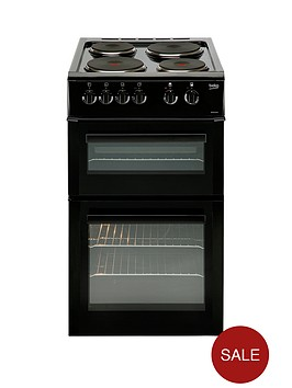 beko-bd533ak-50cm-freestanding-single-oven-electric-solid-plate-cooker-blacknbsp