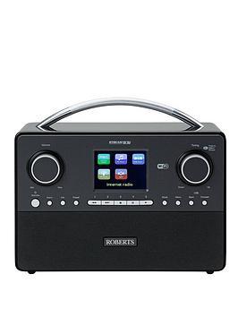 roberts-stream-93i-dabdabfmwifi-internet-radio-with-3-way-speaker-system