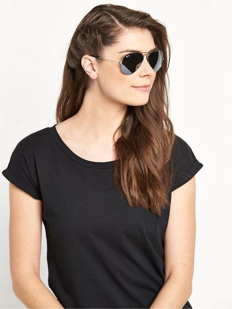 ray-ban-aviator-sunglasses-silver