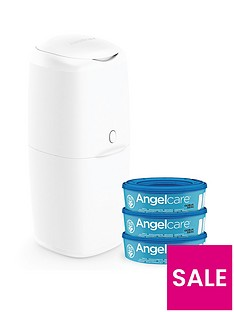 angelcare-nappy-disposal-system-starter-pack