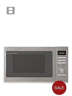 russell-hobbs-rhm3002nbsp900-watt-combination-microwave-oven-andnbspgrill--nbsp30-litre