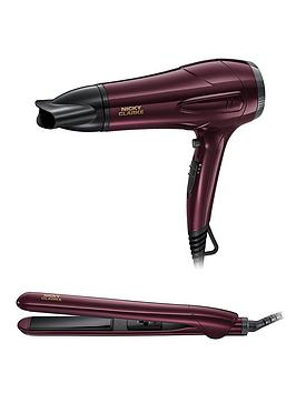 nicky-clarke-ngp227-hairdryer-and-straightener-gift-set