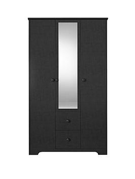 windsor-3-door-2-drawer-mirrored-wardrobe