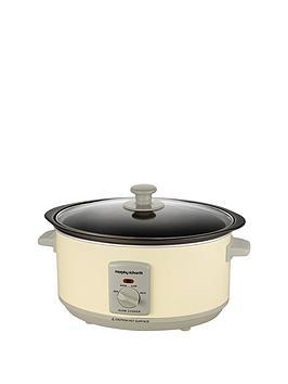 morphy-richards-460002-35-litre-slow-cooker-cream