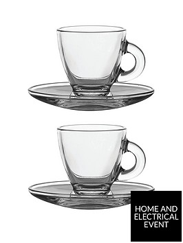 ravenhead-entertain-glass-espresso-cup-and-saucer-set