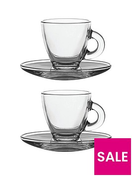 ravenhead-entertain-set-of-2-espresso-cups-and-saucers