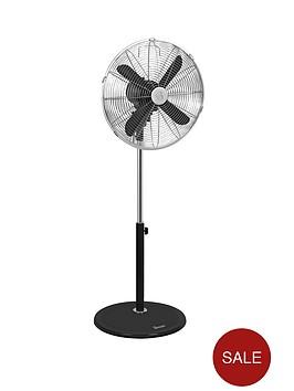 swan-sfa1020-16-inch-retro-stand-fan-black