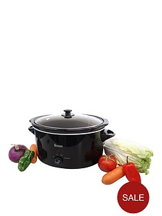 swan-sf11041-55-litre-slow-cooker-black