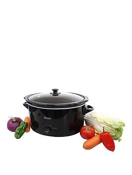 swan-sf11041-55-litre-slow-cooker-black