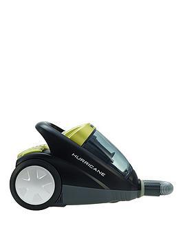hoover-hurricane-sx70-hu11001-bagless-cylinder-vacuum-cleaner--nbspblacksilvergreen
