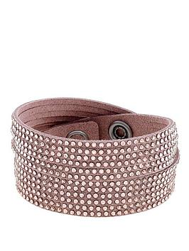 lola-and-grace-wrap-twist-rose-gold-leather-bracelet-with-swarovski-elements