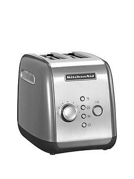 kitchenaid-5kmt221bcu-2-slot-toaster-silver