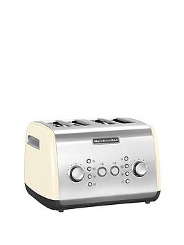 kitchenaid-5kmt421bac-4-slot-toaster-cream