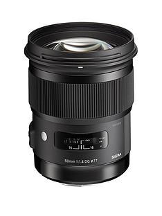 sigma-50-mm-f14-dg-a-hsm-lens-canon-fit-black