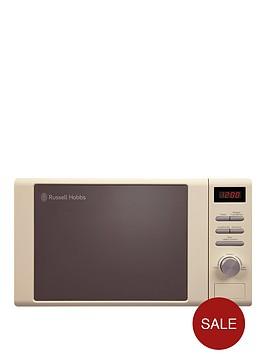 russell-hobbs-rhm2064cnbsp800-watt-heritage-microwave-cream