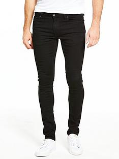 river-island-super-skinny-jeans-black