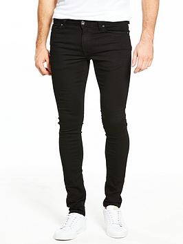 river-island-super-skinny-jeans-black