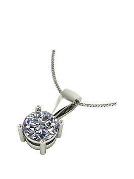 moissanite-9-carat-white-gold-1-carat-pendant
