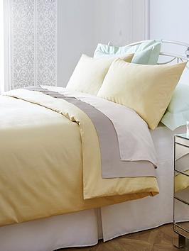Non Iron Percale 180 Thread Count Extra Deep Fitted Bed Sheet |  Littlewoodsireland.ie