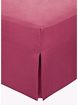 non-iron-percale-180-thread-count-box-pleated-fitted-valance-sheet