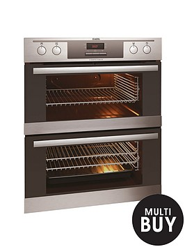 aeg-nc4013021m-60cm-built-under-double-electric-oven-stainless-steel