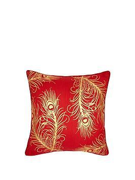 laurence-llewelyn-bowen-aubrey-peacock-feather-cushion