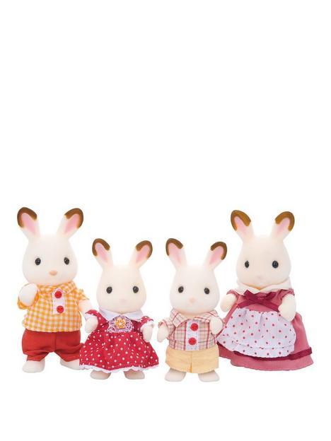 sylvanian-families-chocolate-rabbit-family