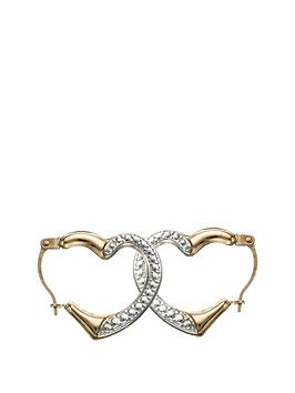 love-gold-9-carat-2-colour-gold-15-mm-heart-shaped-creole-earrings