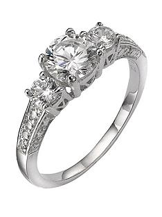 the-love-silver-collection-sterling-silver-white-cubic-zirconia-trilogy-dress-ring