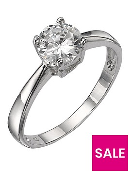 the-love-silver-collection-sterling-silver-white-cubic-zirconia-solitaire-dress-ring