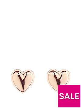 love-gold-9-carat-rose-gold-domed-heart-earrings