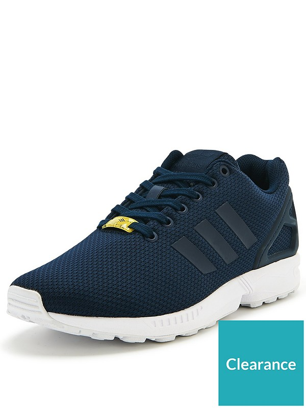 reputable site dde54 dc34c ZX Flux Mens Trainers
