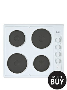 swan-sxb2040w-60cm-built-in-electric-hob-white