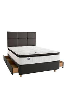 silentnight-sophia-eco-1000-pocket-pillowtop-divan-bed-with-headboard-and-storage-options