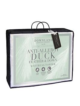 downland-12-cm-anti-allergy-duck-feather-and-down-mattress-topper