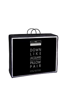 hotel-collection-feels-like-down-jacquard-stripe-cotton-pillow-pair