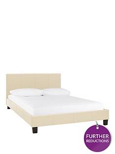 Bed Frames Cream Beds Home Garden Www Littlewoodsireland Ie
