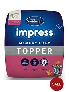 silentnight-impress-5-cm-memory-foam-mattress-topper