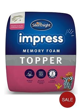 silentnight-silentnight-impress-5cm-memory-foam-mattress-topper