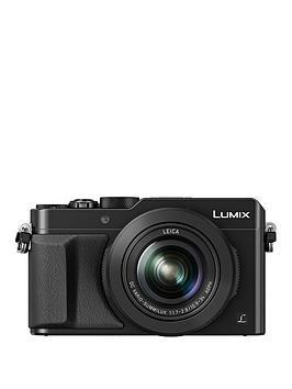panasonic-lumix-dmc-lx100-ebknbspcompact-digital-camera-4k-ultra-hd-128-megapixel-31x-optical-zoom-evf-3-inchnbsplcdnbspscreennbspsave-pound20-with-voucher-code-lxk3t