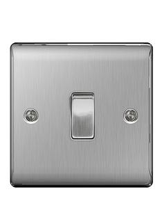 british-general-brushed-steel-1g-switch