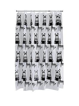 aqualona-zebra-shower-curtain-multi