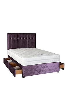 sweet-dreams-sheba-crushed-velvet-divan-bed-with-storage-options-includes-headboard