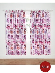 catherine-lansfield-owl-curtains