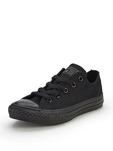 converse-chuck-taylor-all-star-mono-canvas-ox-core-childrens-trainers-black