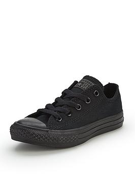 converse-chuck-taylor-all-star-mono-canvas-ox-core-childrens-trainers-black