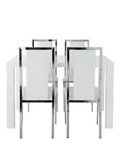 atlantic-120-cm-gloss-dining-table-4-atlantic-chairs
