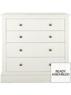 ready assembled white chest of drawers home garden www