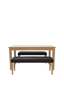pprimo-dining-table-2-faux-leather-benches-brownoakp